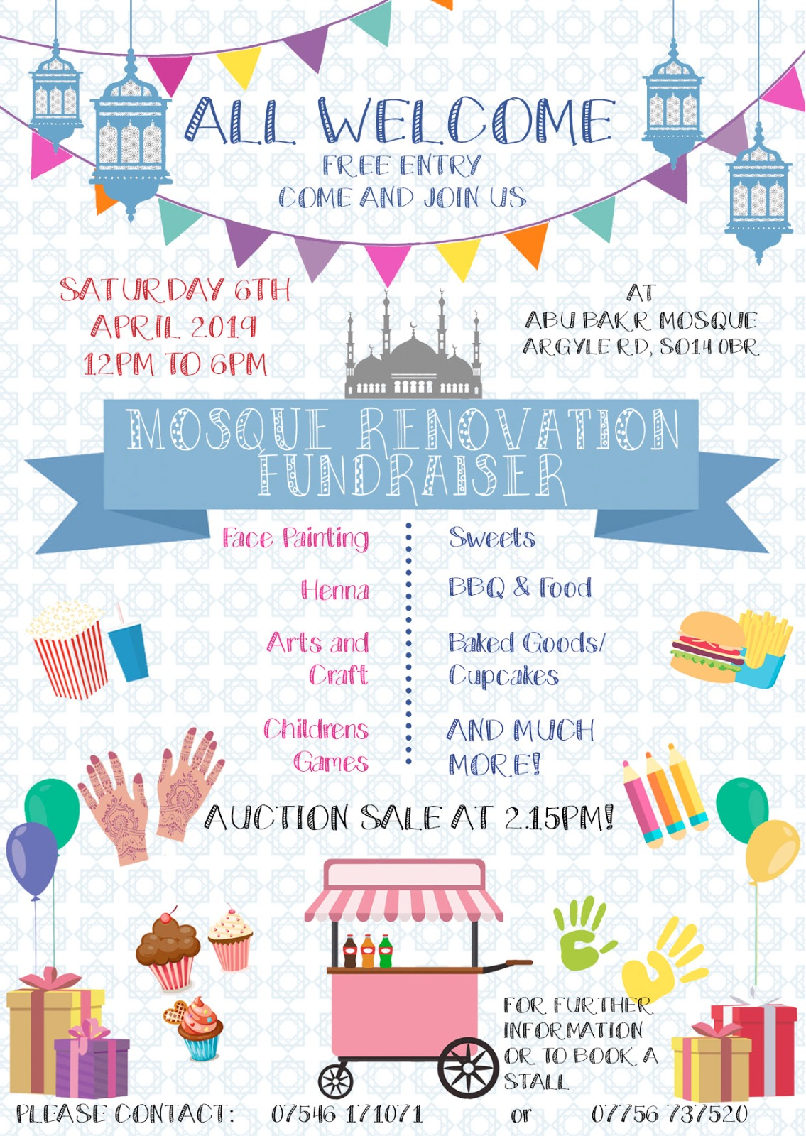 MOSQUE RENOVATION FUNDRAISER