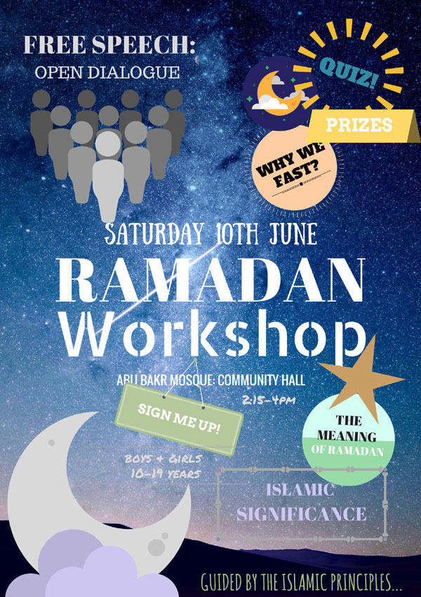 RAMADAN WORKSHOP